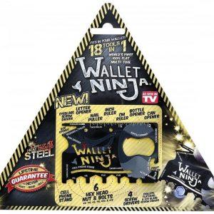 Wallet Ninja Multi-Tool Työkalut