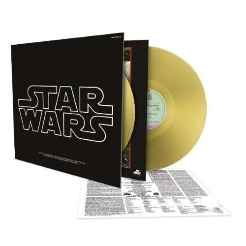 Williams John - Star Wars - Episode IV: A New Hope - Limited Gold 180 Gram Edition (2LP)