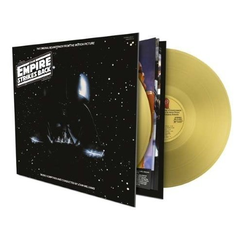 Williams John - Star Wars Episode V: The Empire Strikes Back - Limited Gold 180 Gram Edition (2LP)
