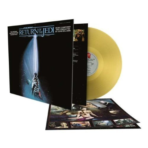 Williams John - Star Wars Episode VI - Return of the Jedi - Limited Gold 180 Gram Edition (2LP)