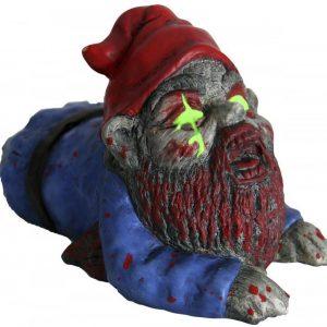 Zombie Puutarhatonttu Crawler Koristeartikkeli