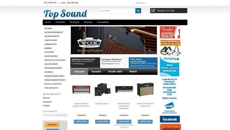 Musiikkiliike Top Sound Oy